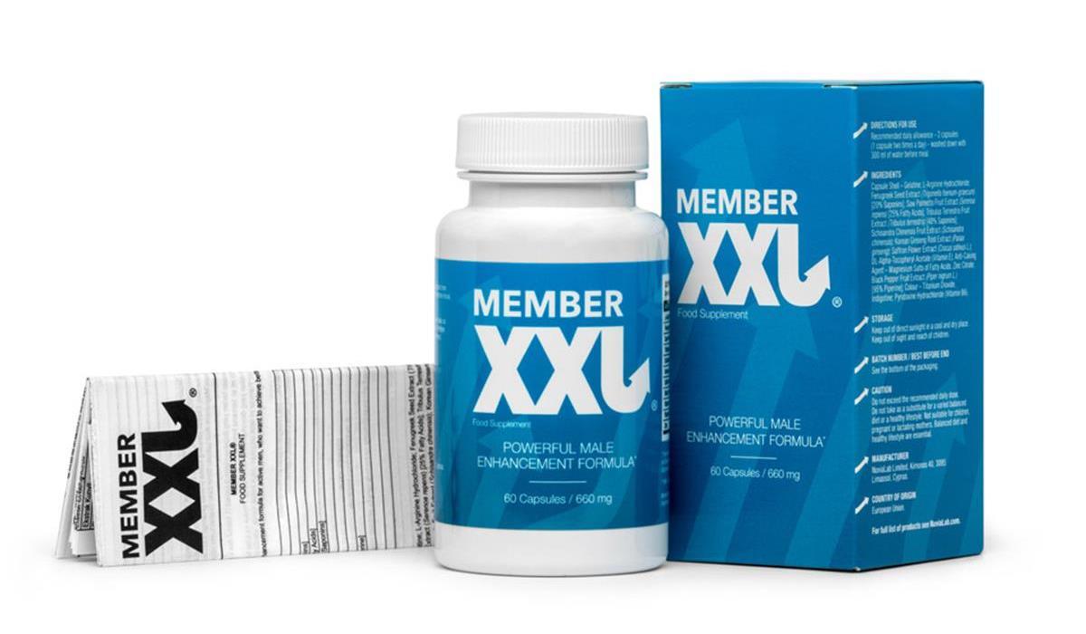 skład tabletek Member XXL